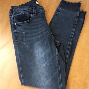 Zara Faded Gray Jeans